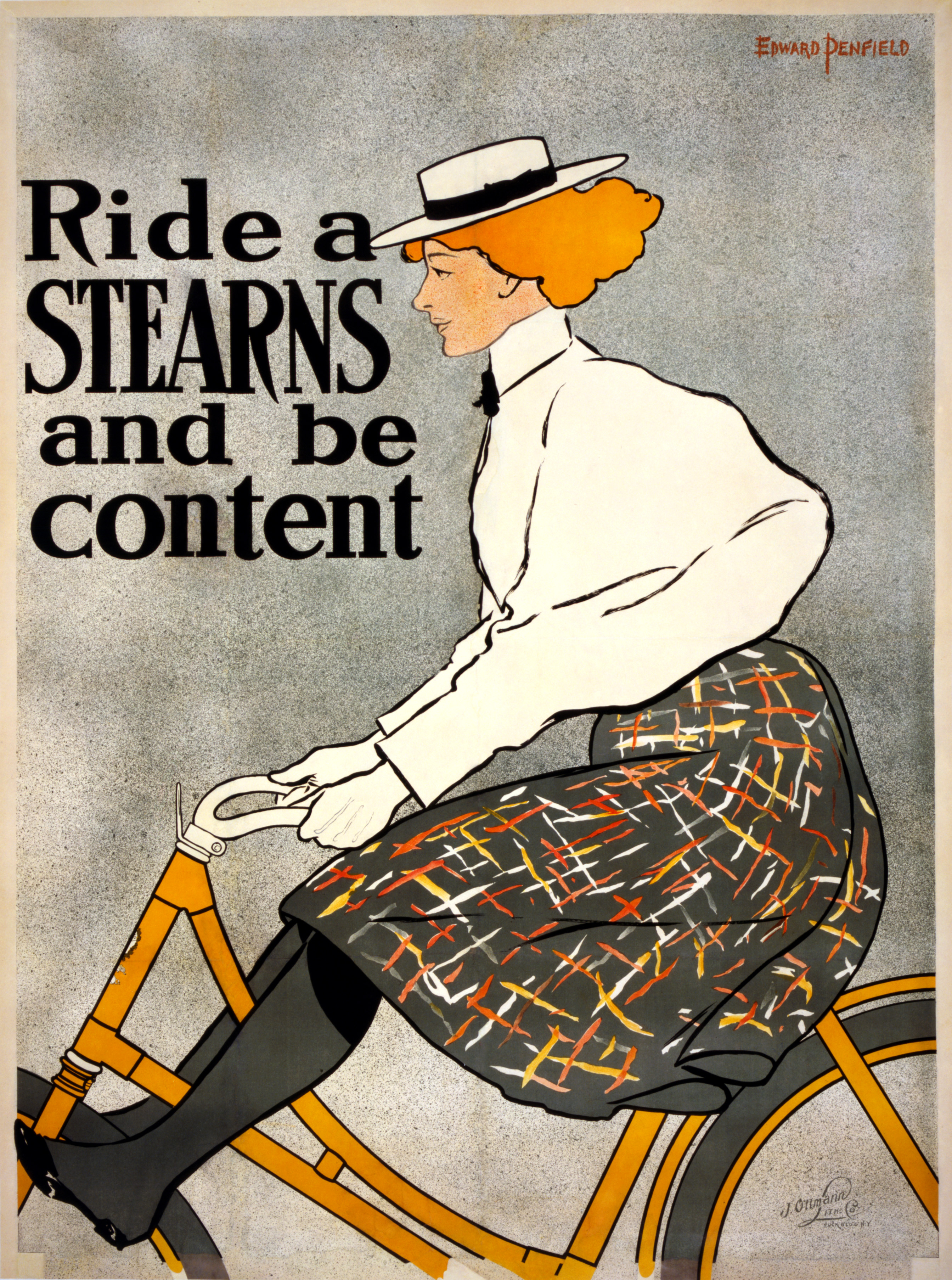 Vintage Bicycle Posters Foreshadow Car Ads • Petrolicious