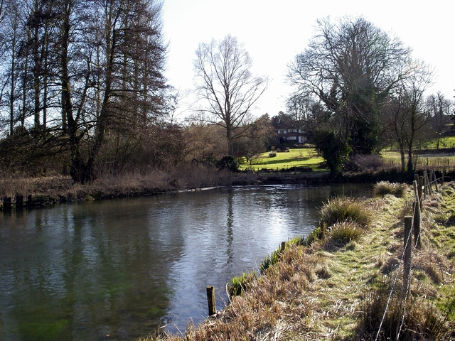 River Itchen, near Easton - geograph.org.uk - 142159