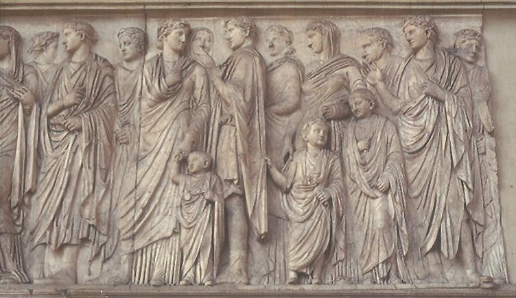 Ara Pacis Roman Bas-Relief