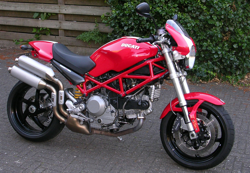 Ducati Monster Rear Bag