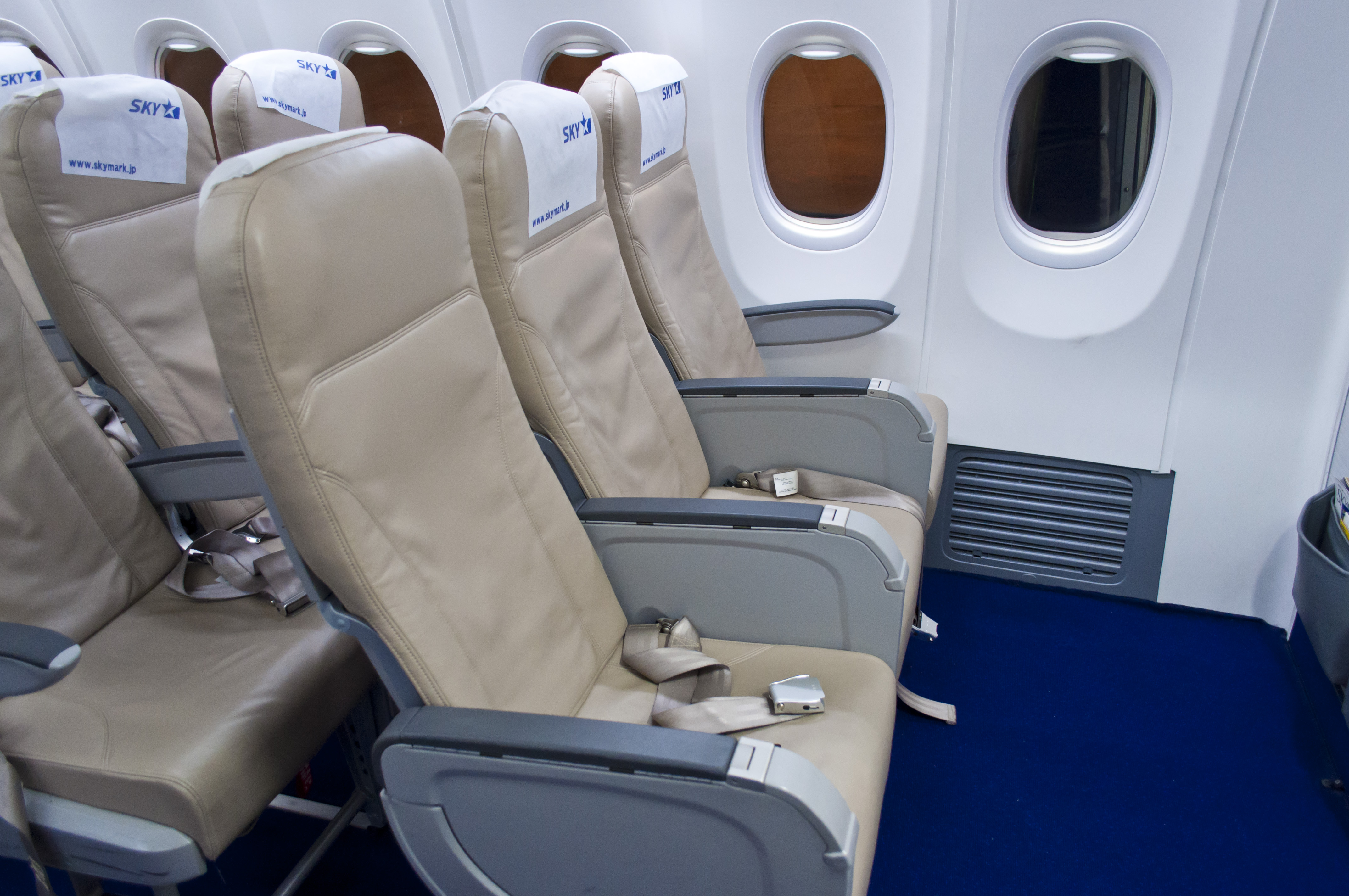 File:SKYMARK 737 SEAT Boeing Sky Interior
