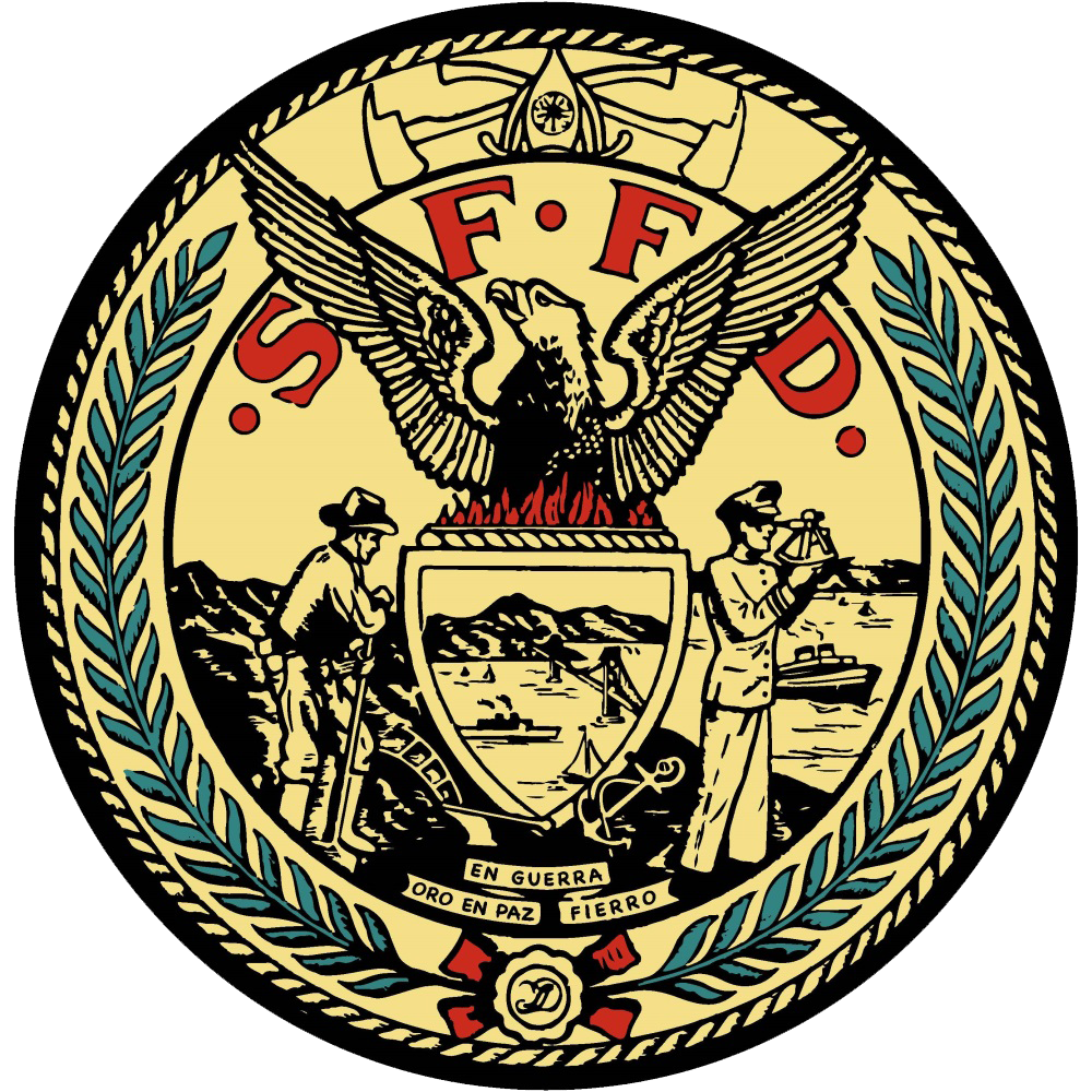 SAN FRANCISCO FIRE DEPT logo