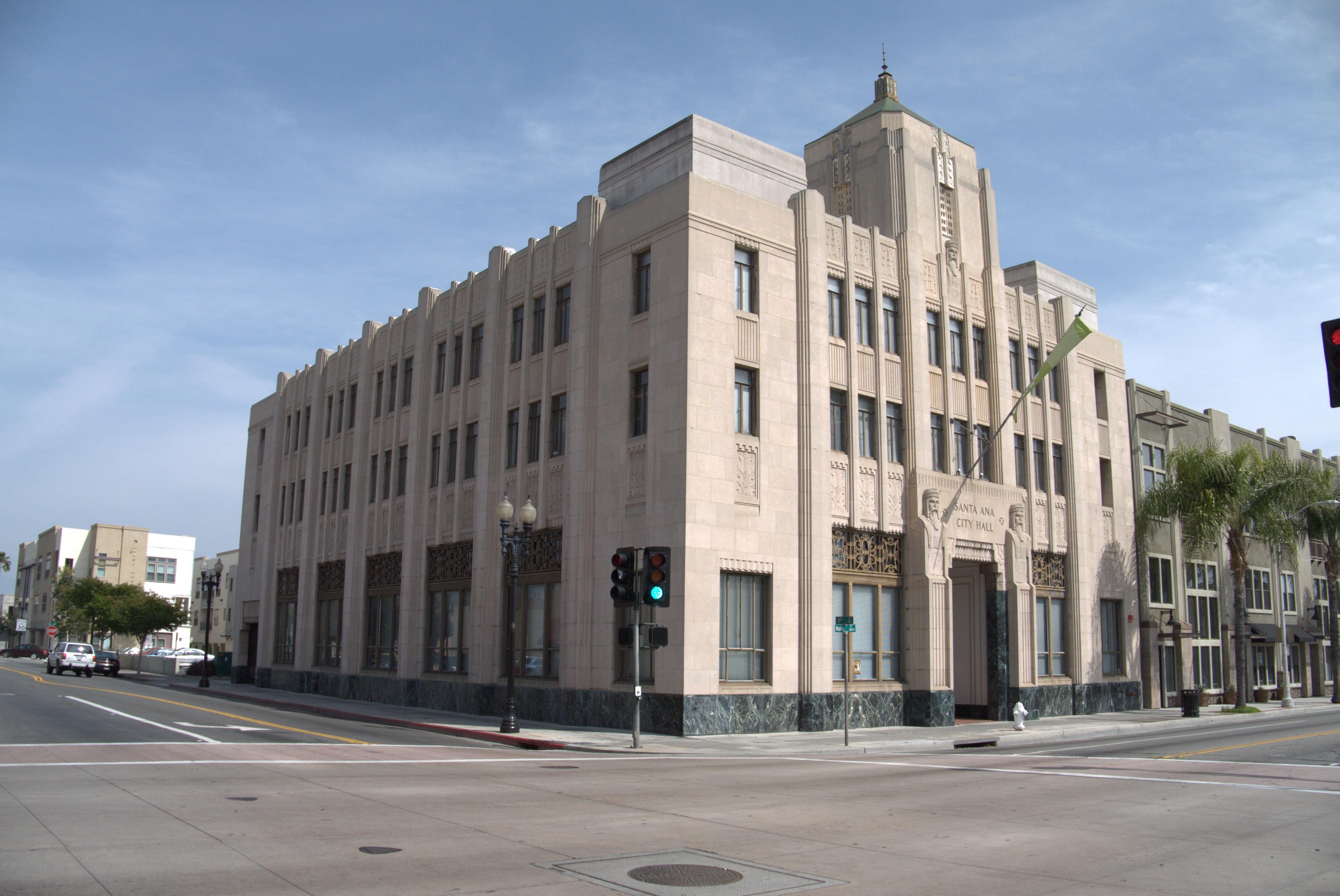 Santa Ana City Hall Photo Credit Wikipedia