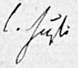 Signatur Carl Justi.PNG