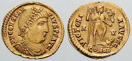 File:Solidus Constantius III-RIC 1325.jpg