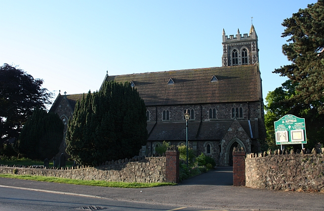 St Matthias' parish church, Church Road, Malvern Link, Worcestershire