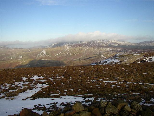 Summit of Windy Gyle - geograph.org.uk - 670034