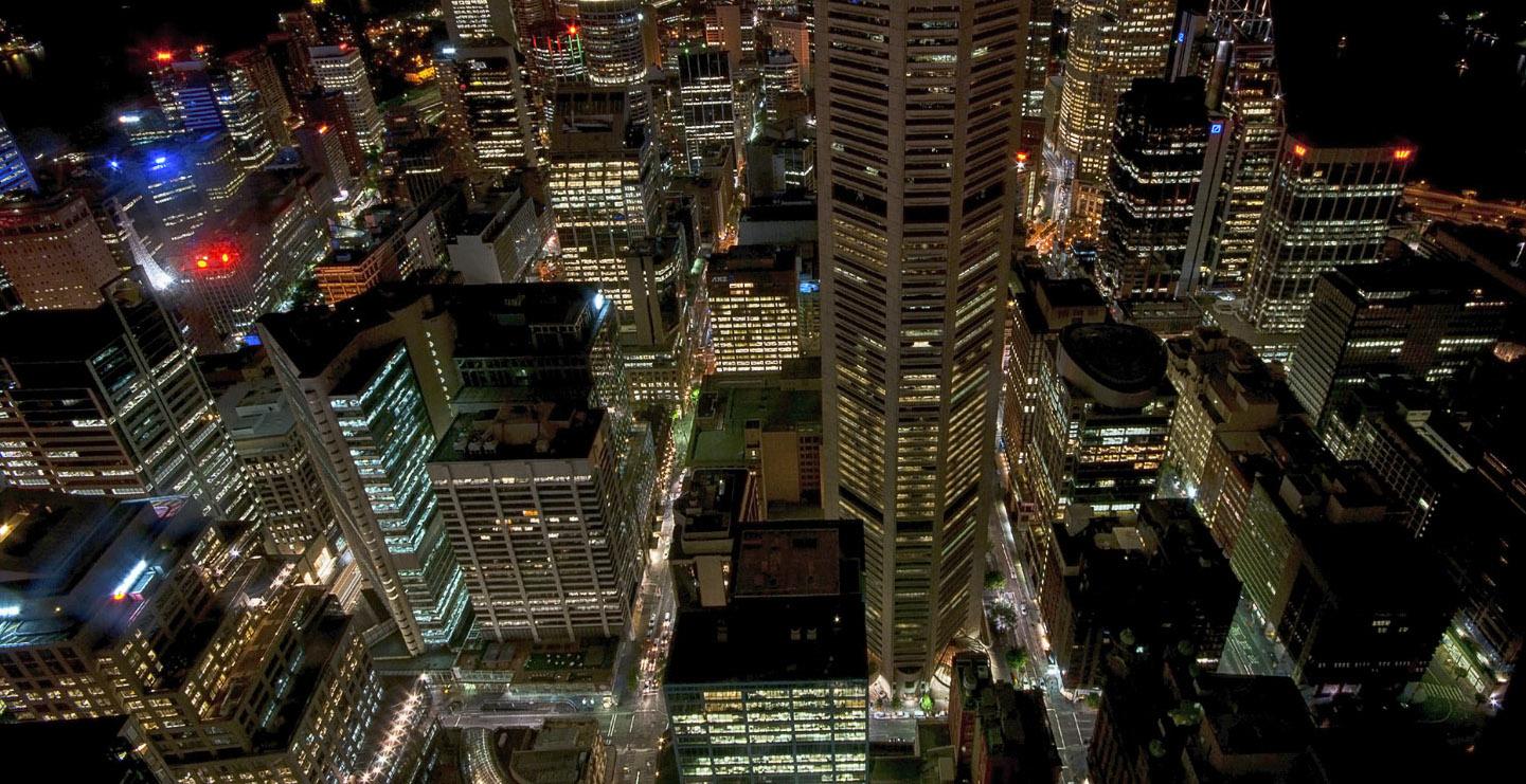 What to do sydney cbd at night