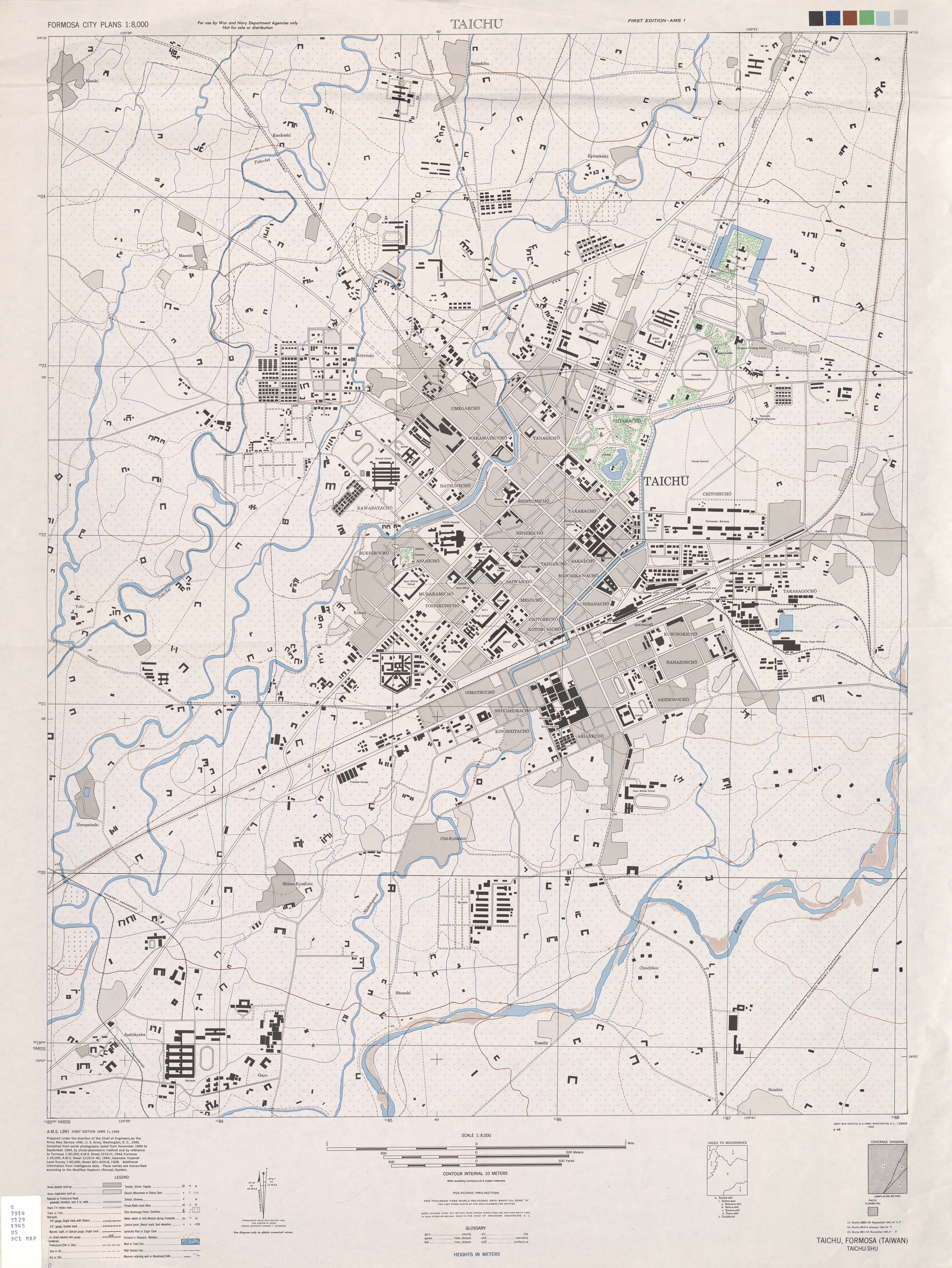 FileTaichung City Map By US Armyjpg Wikimedia Commons - Map cities wikimedia us