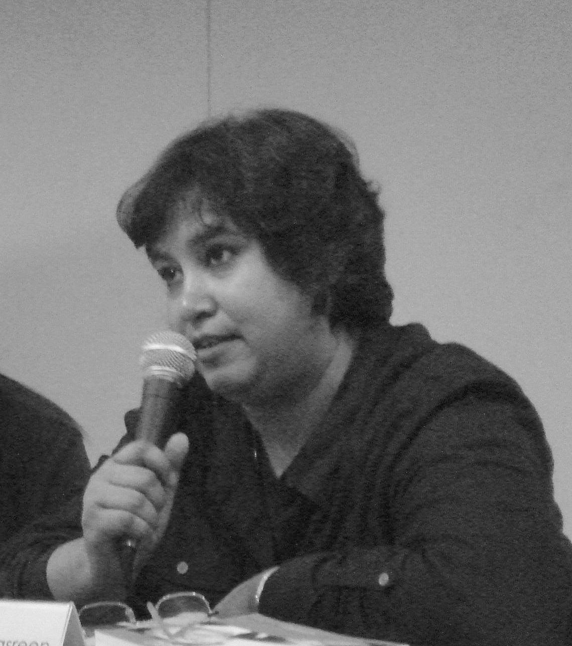 taslima nasreen Taslima nasrin's biography and life storytaslima nasrin (bengali: তসলিমা নাসরিন, arabic: تسليمة نسرین, hindi: तसलीमा नसरीन, toslima nasrin) is a bangladeshi author and former physician who has been living in ex.