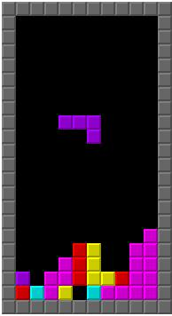 Screenshot van Tetris