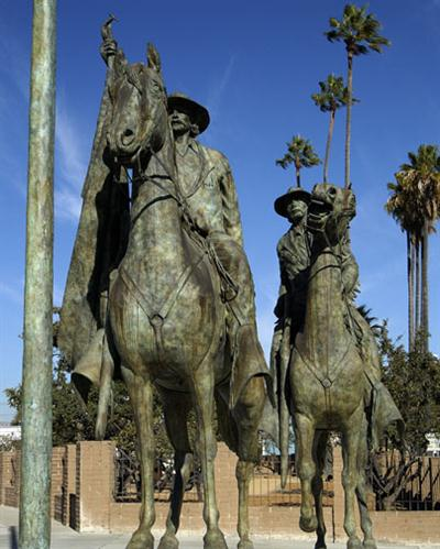 Thomas Fallon equestrian statue; 10th Mayor of San Jose. Thomas Fallon Statue.jpg