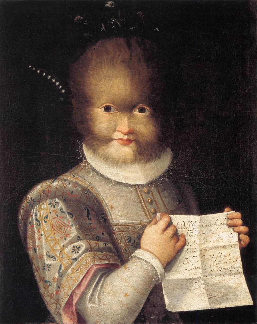 Portrait de Tognina Gonsalvus