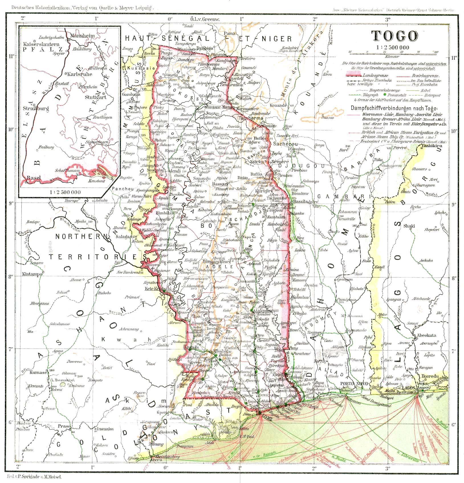 deutsch togo