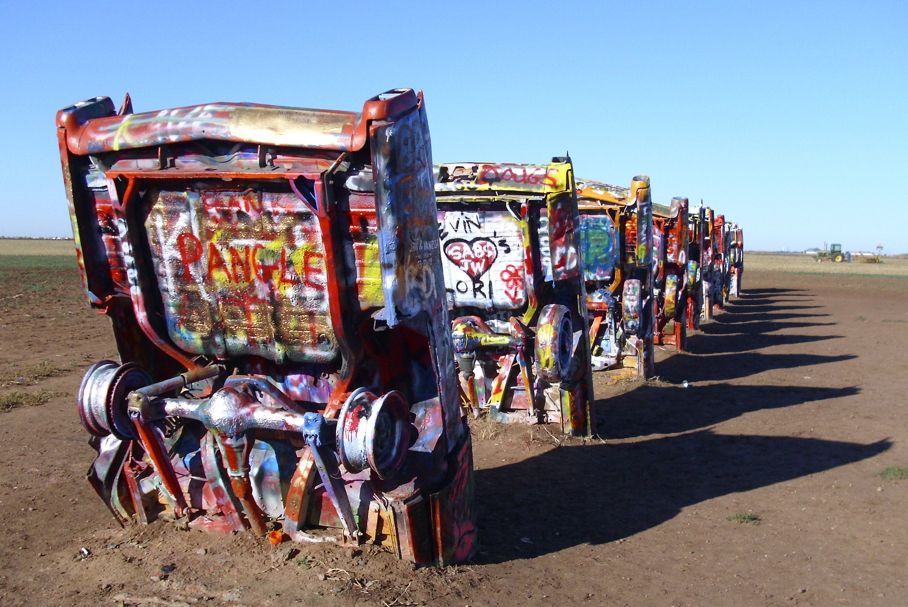 file usa texas amarillo cadillac ranch side 09 10 wikimedia. Cars Review. Best American Auto & Cars Review