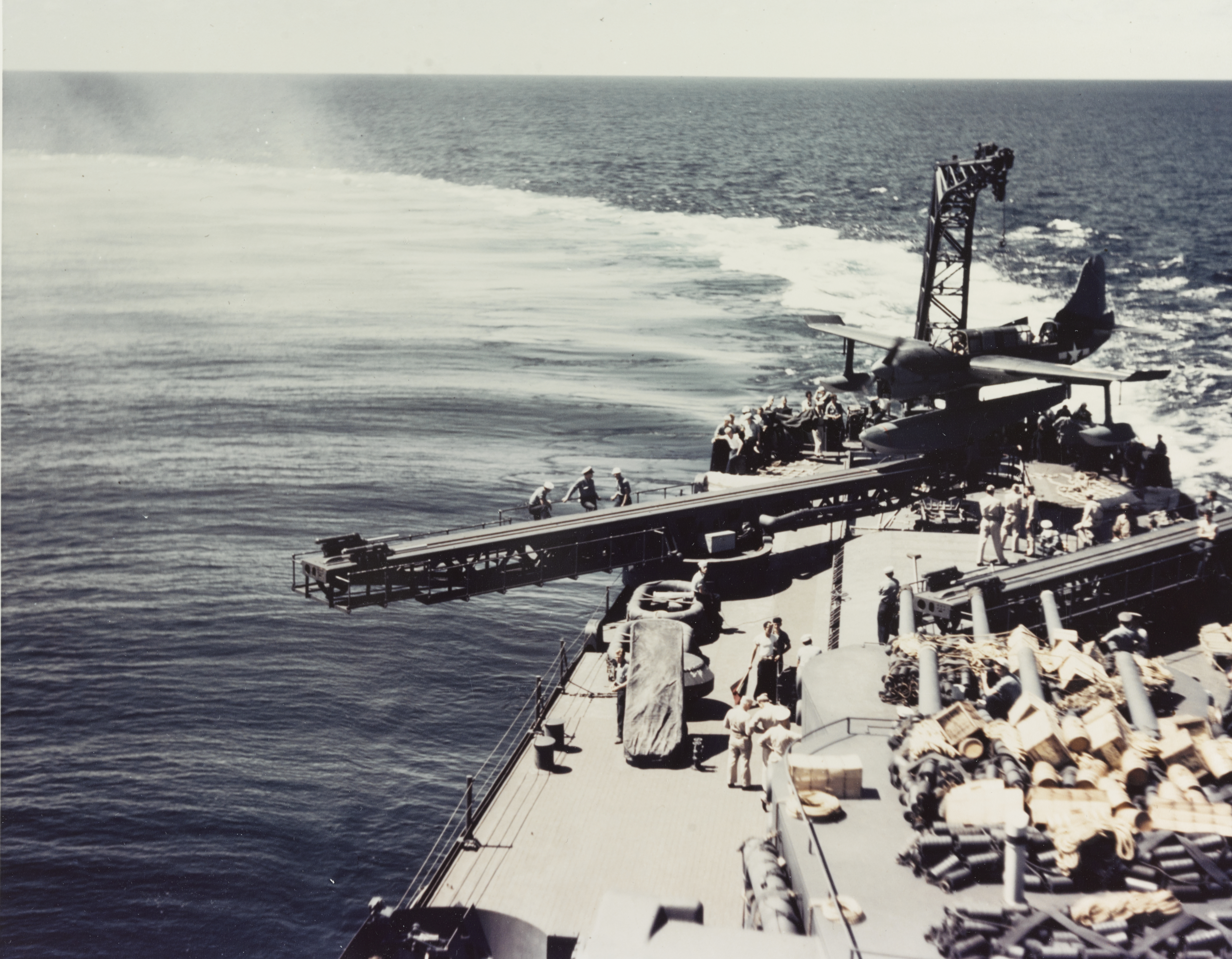 USS BILOXI CL 80 Naval Ship Photo Print USN Navy