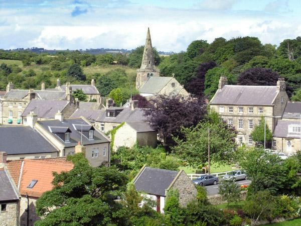 Warkworth Village and Church