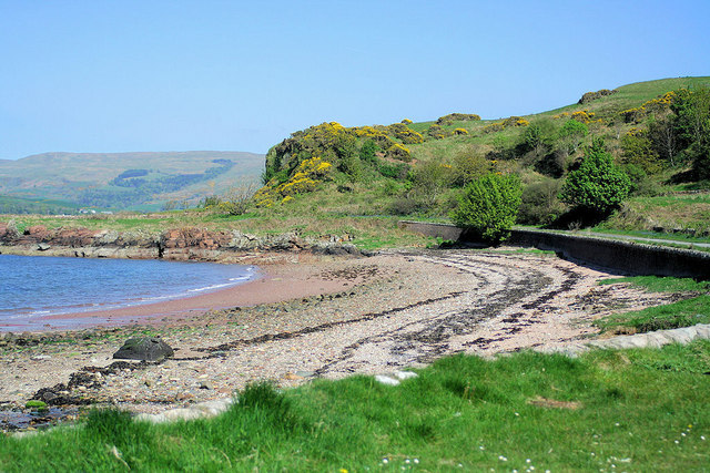 White Bay, Isle of Cumbrae - geograph.org.uk - 426816