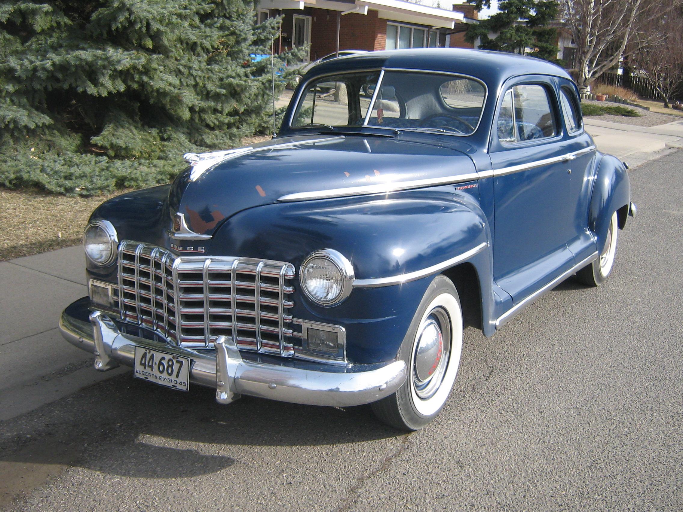 File 1949 Dodge Special De Luxe Jpg Wikimedia Commons