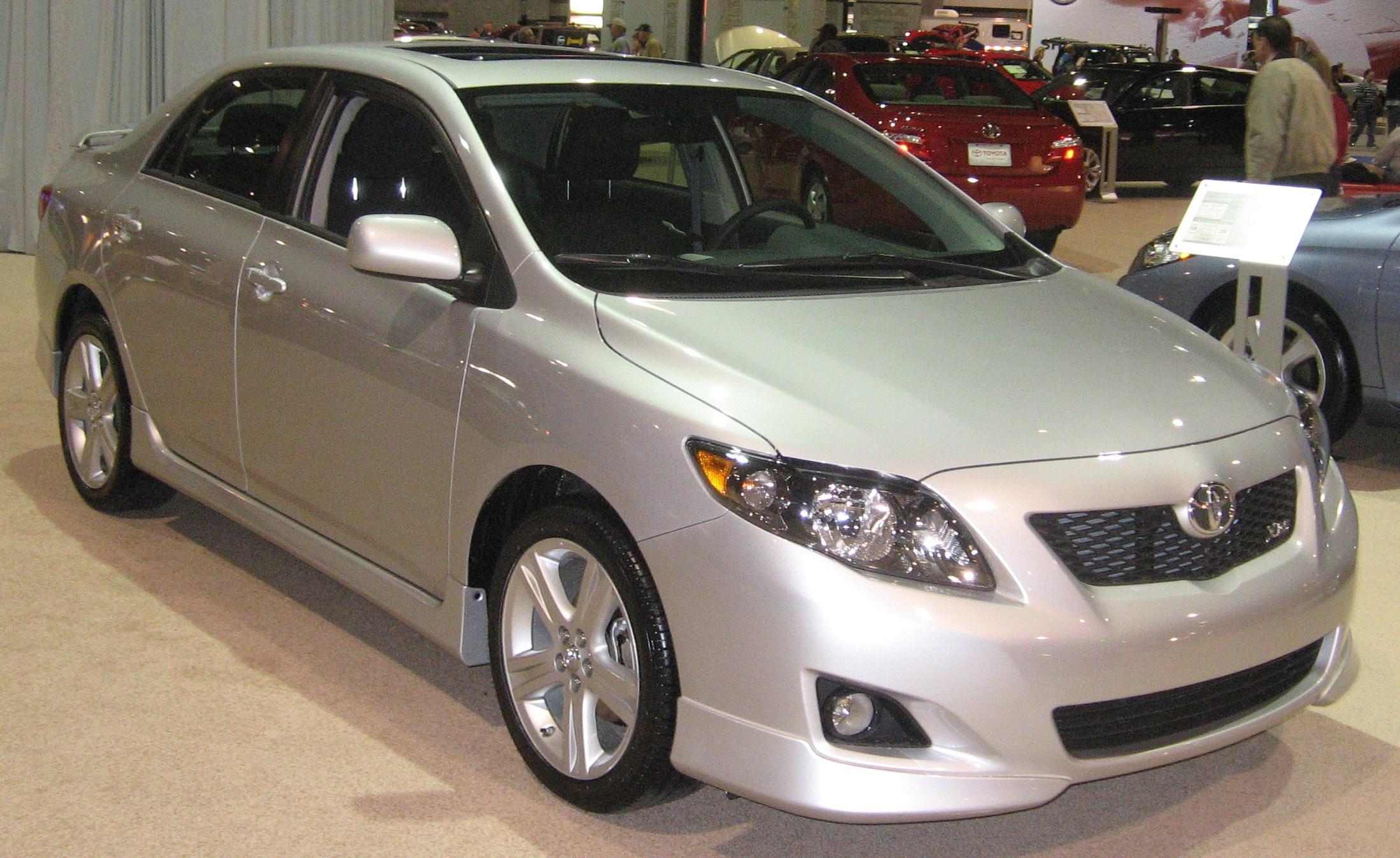 File:2009 Toyota Corolla XRS DC.JPG