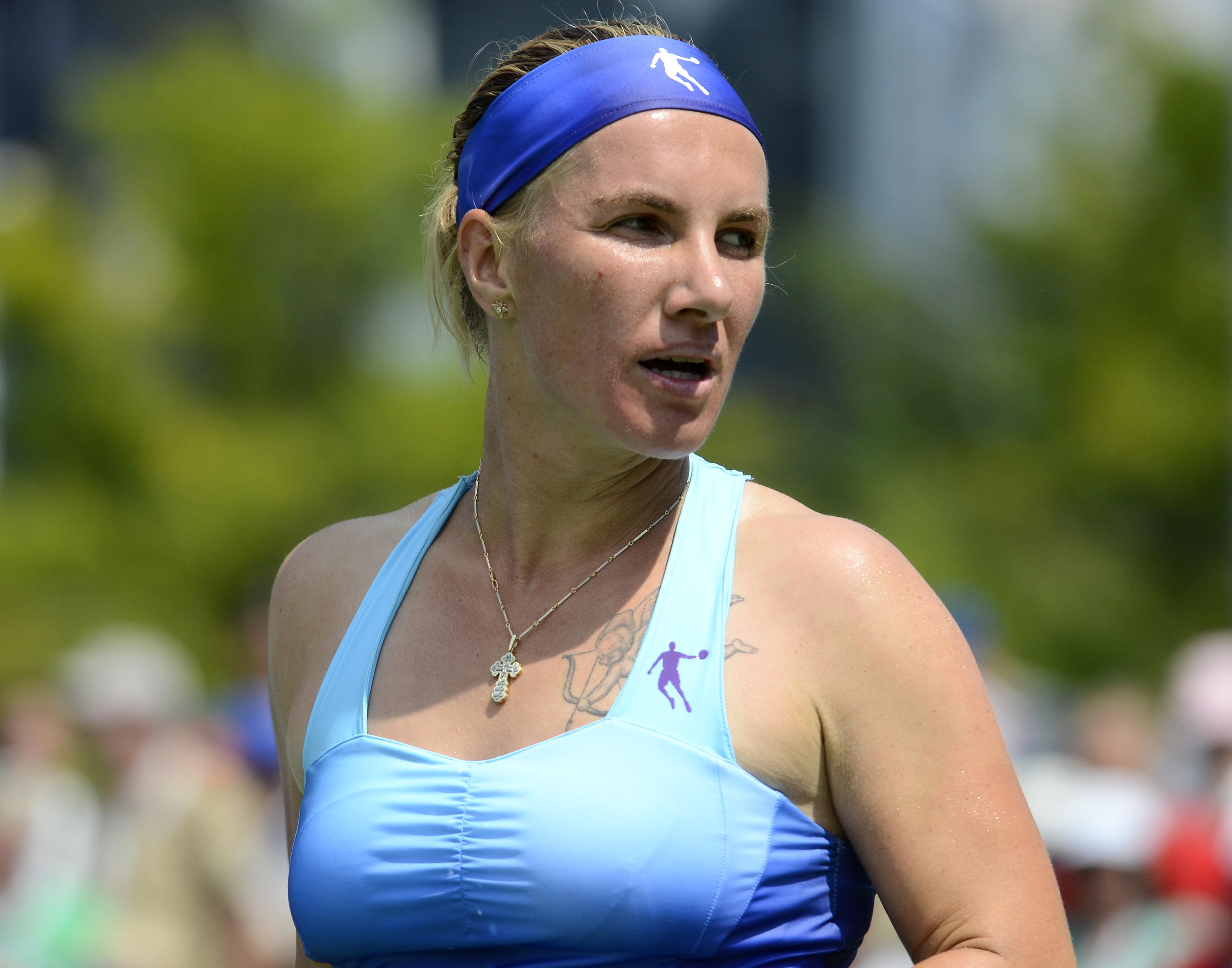 File 2014 US Open Tennis Tournament Svetlana Kuznetsova