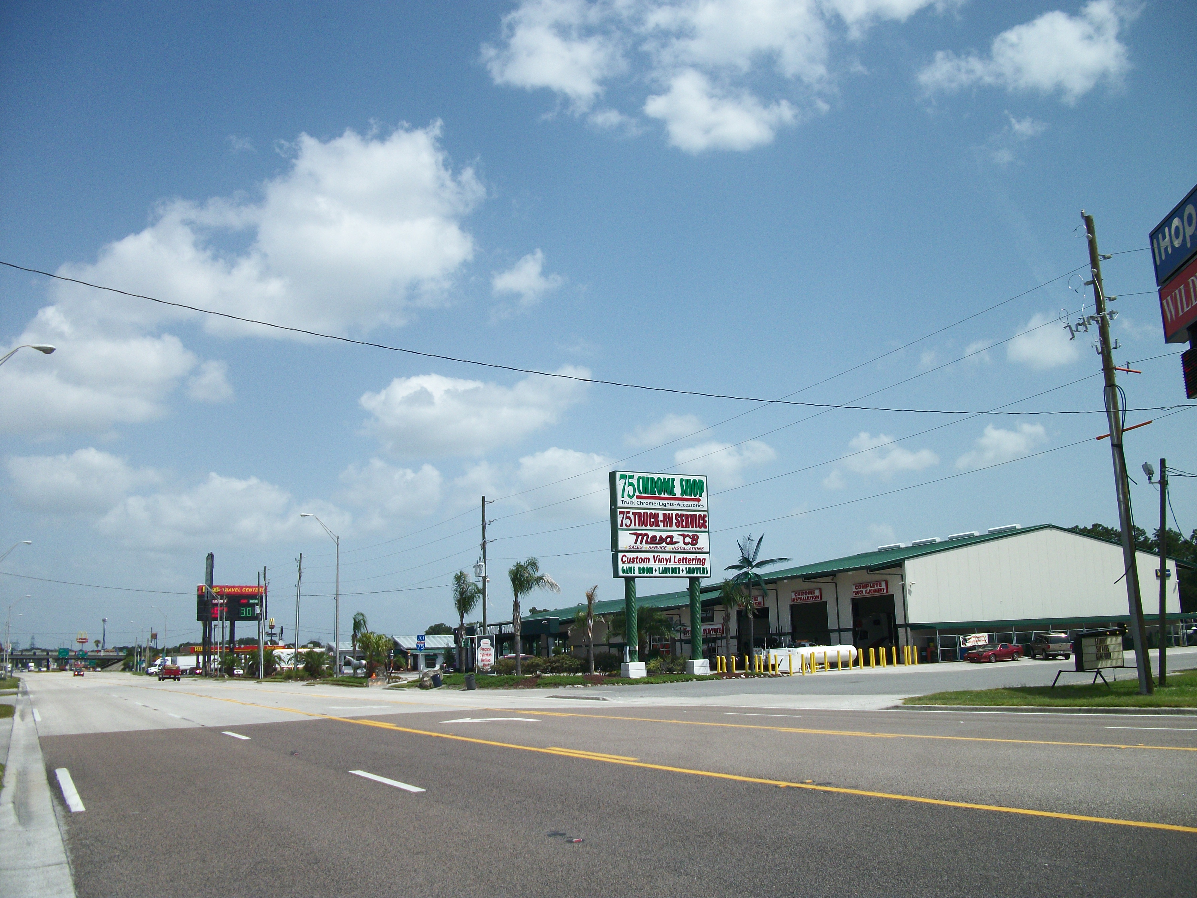 Truck Accessories Florida >> File:75 Chrome Shop; Wildwood, FL.JPG - Wikimedia Commons