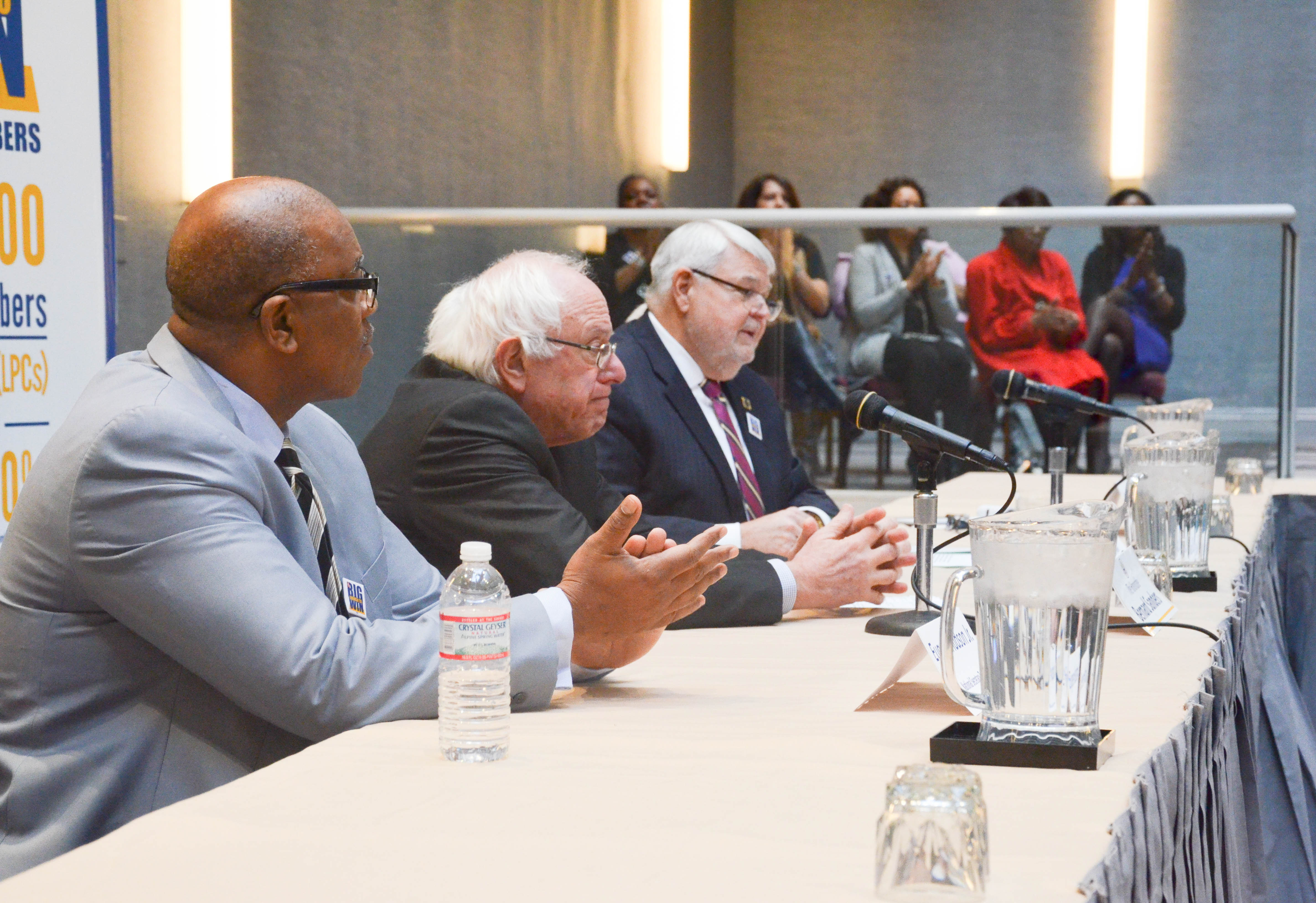 File:AFGE Presidential Forums with Sen  Sanders and