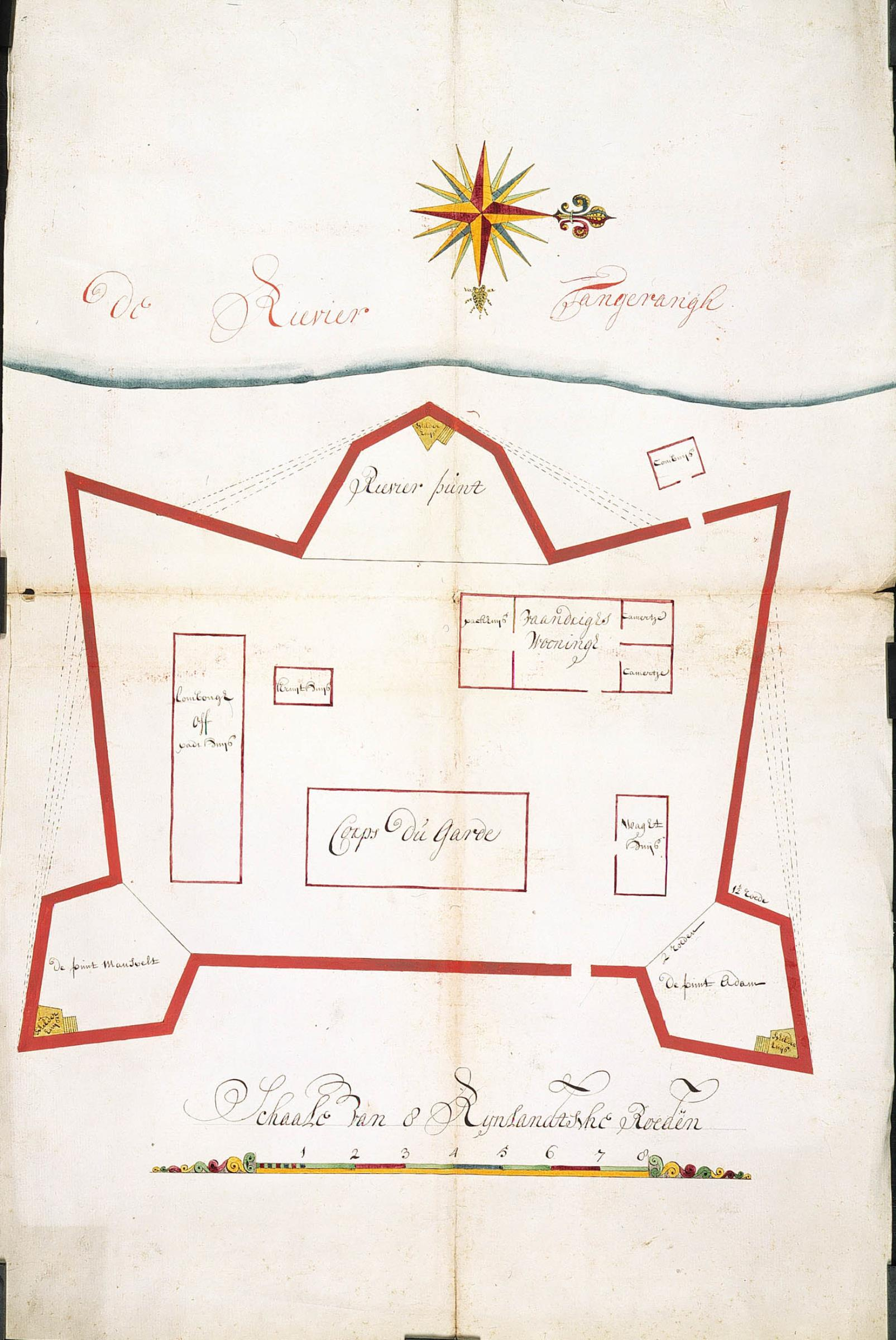 FileAMH4578NA Map of the fort at Tangerangjpg Wikimedia Commons