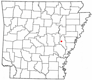 Loko di Clarendon, Arkansas