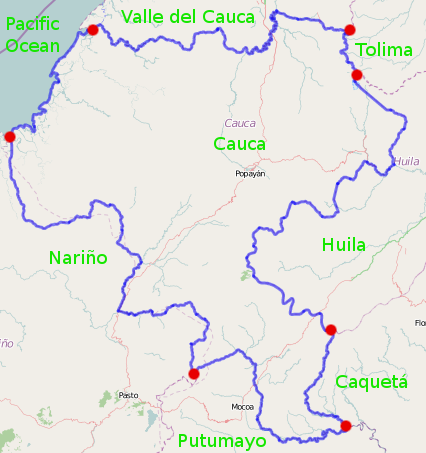 Cauca Department - Wikiwand on