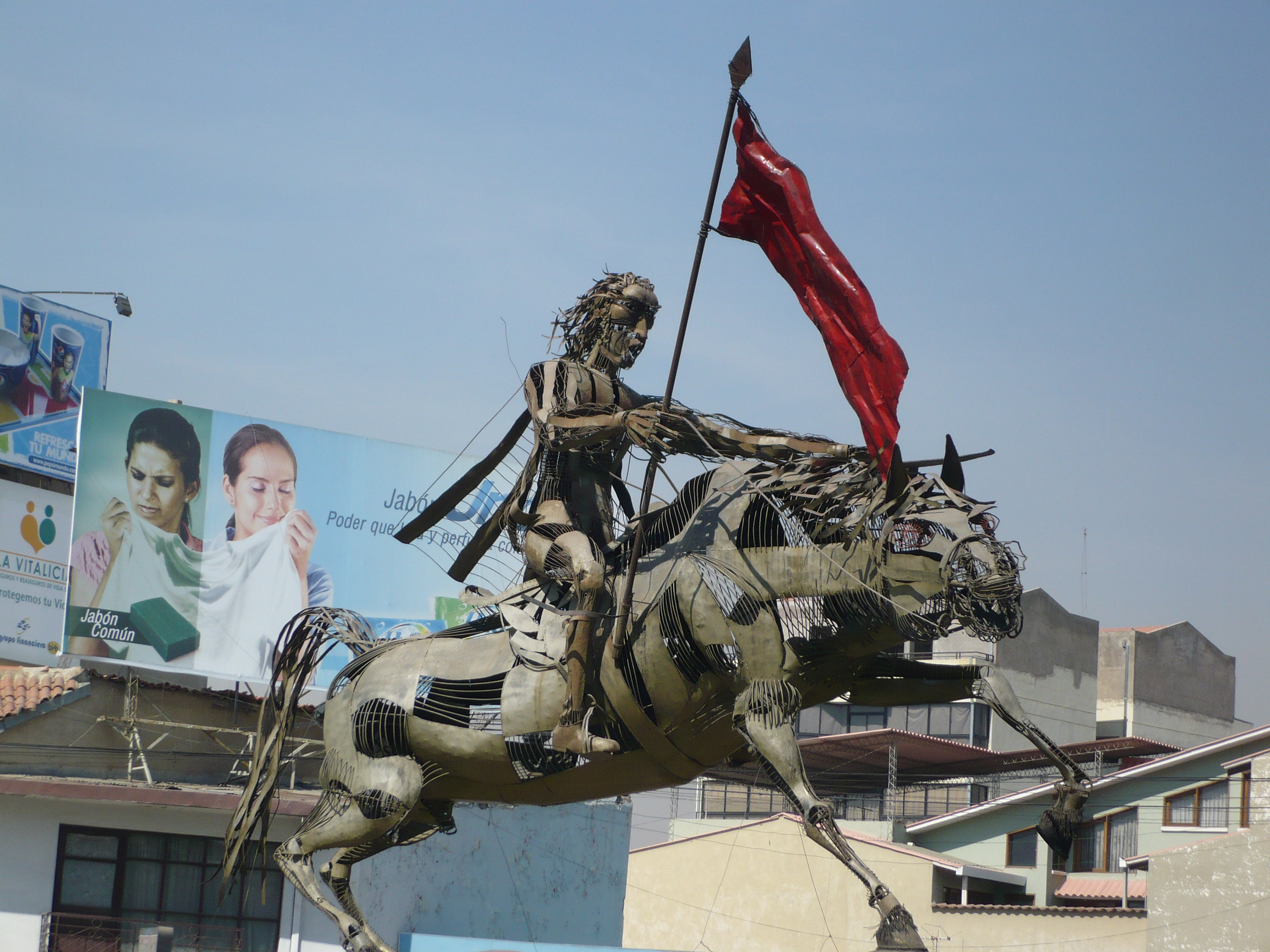 File Alejo Calatayud En El Puente A Quillacollo Cochabamba Bolivia 2 Jpg Wikimedia Commons