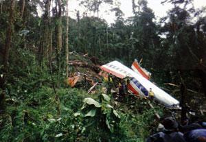 American Airlines Flight 965 December 1995 plane crash in western Colombia