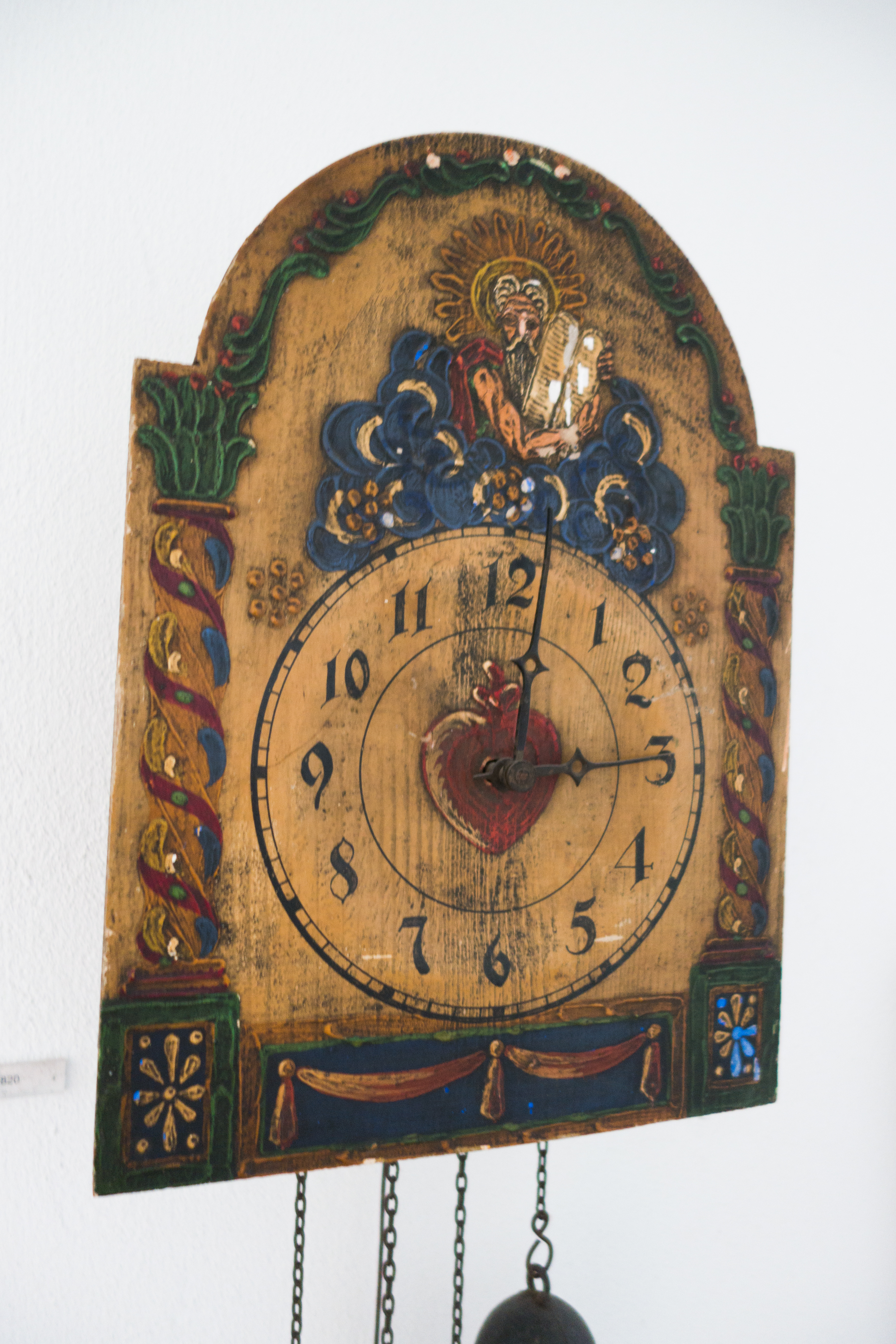 File Antique German Wall Clock