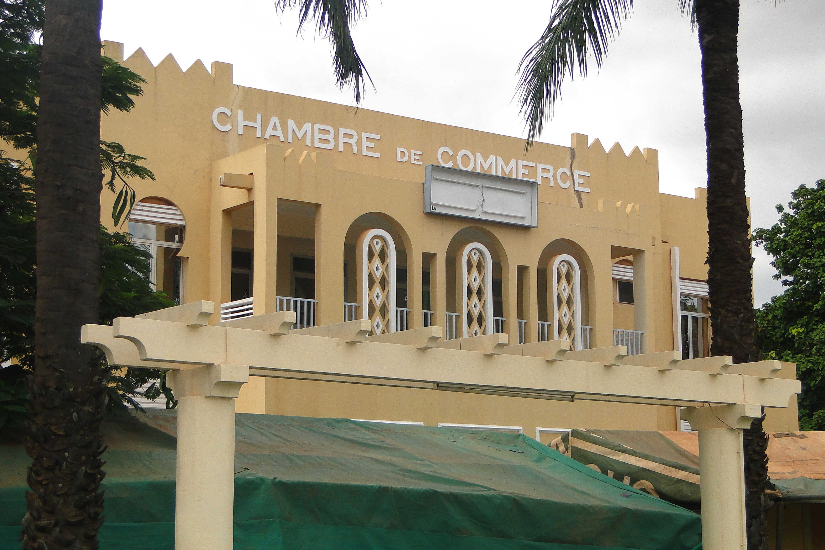 File art deco colonial era chamber of commerce building for Chamber of commerce