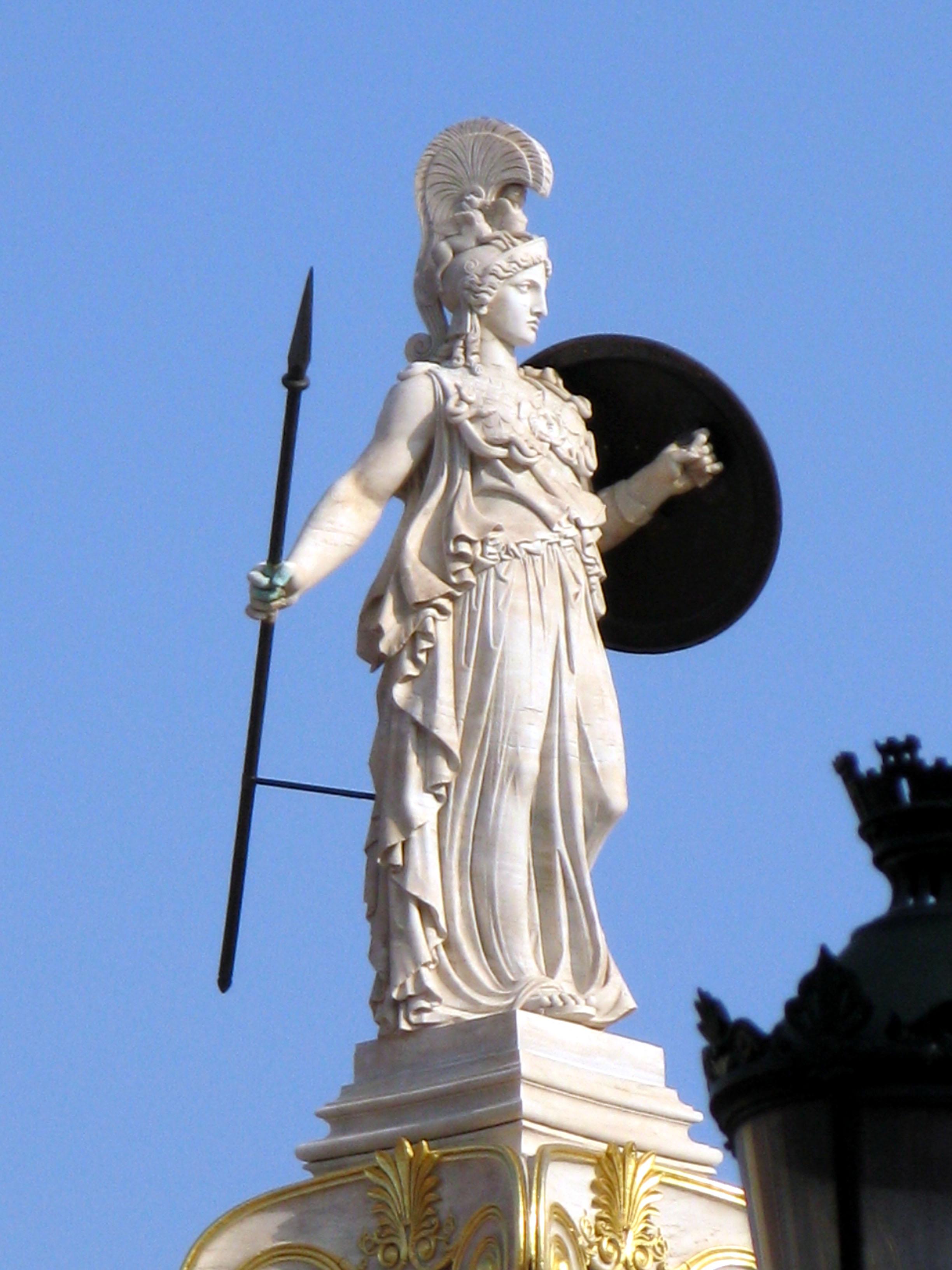 Greek Goddess Athena Statues Cfxq