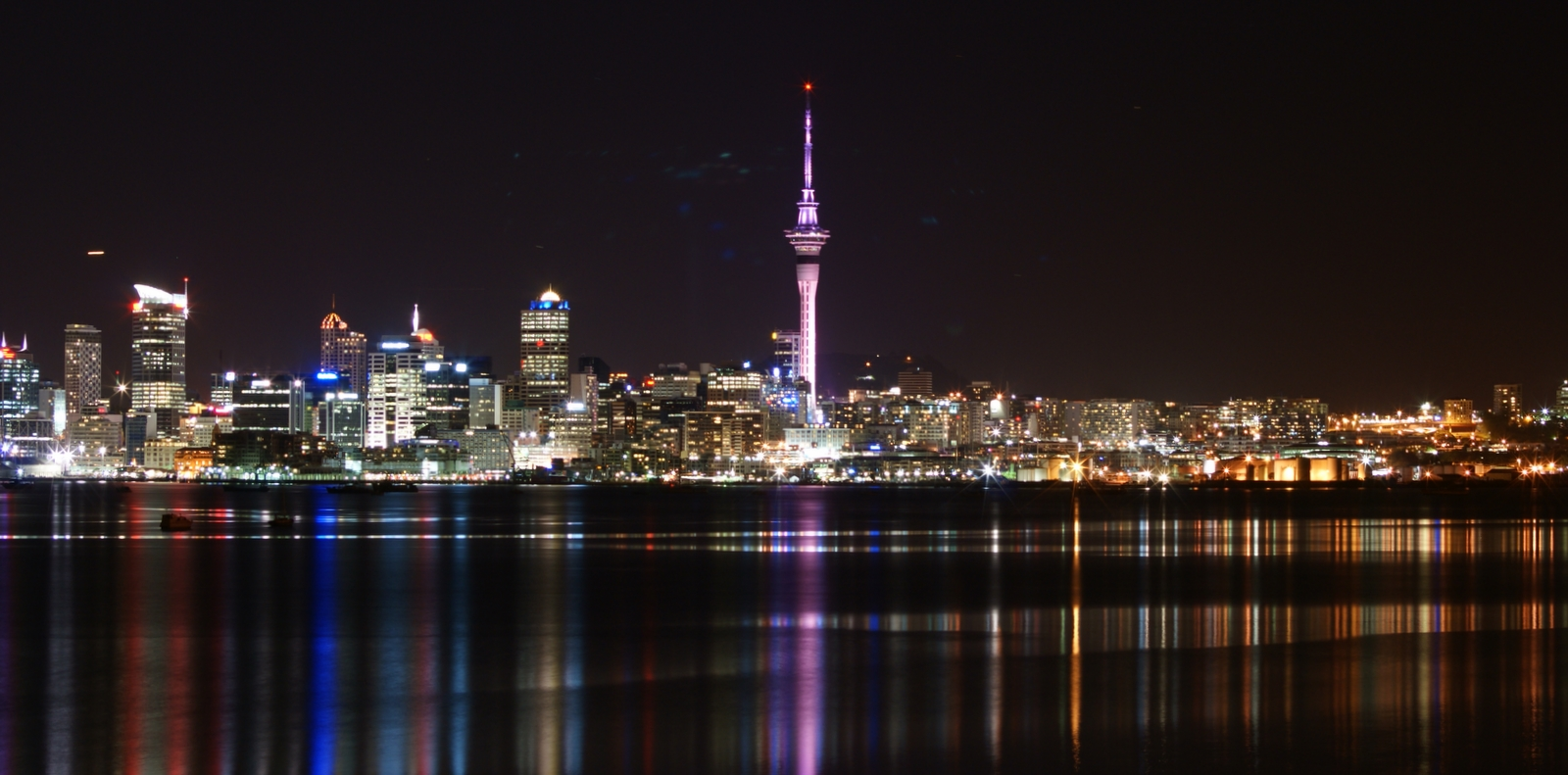 File:Auckland City ^ Skytower at night - Flickr - 111 ...