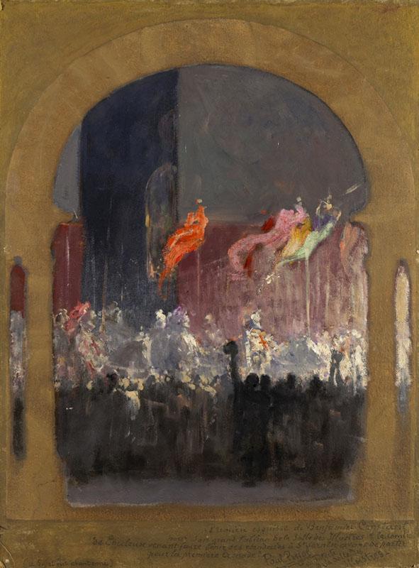Benjamin Constant - Le comte de Toulouse fait bénir ses étendards