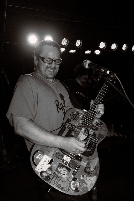 Brendan B. Brown, lead vocalist of Wheatus