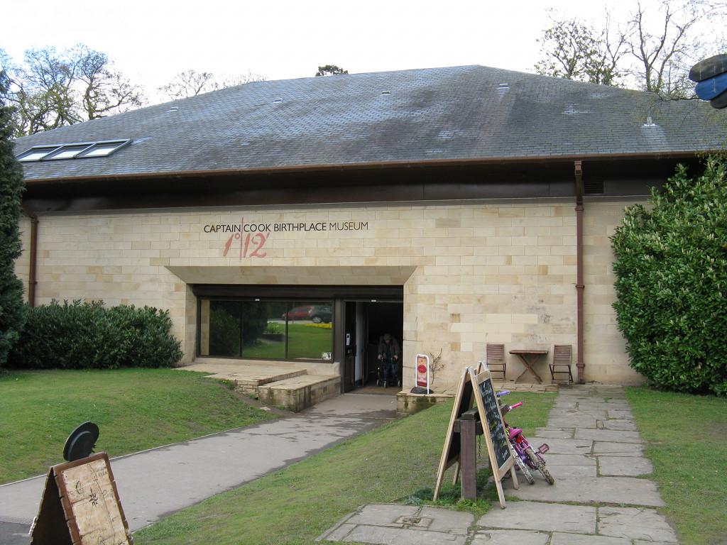 Art Car Museum >> Captain Cook Birthplace Museum - Wikipedia