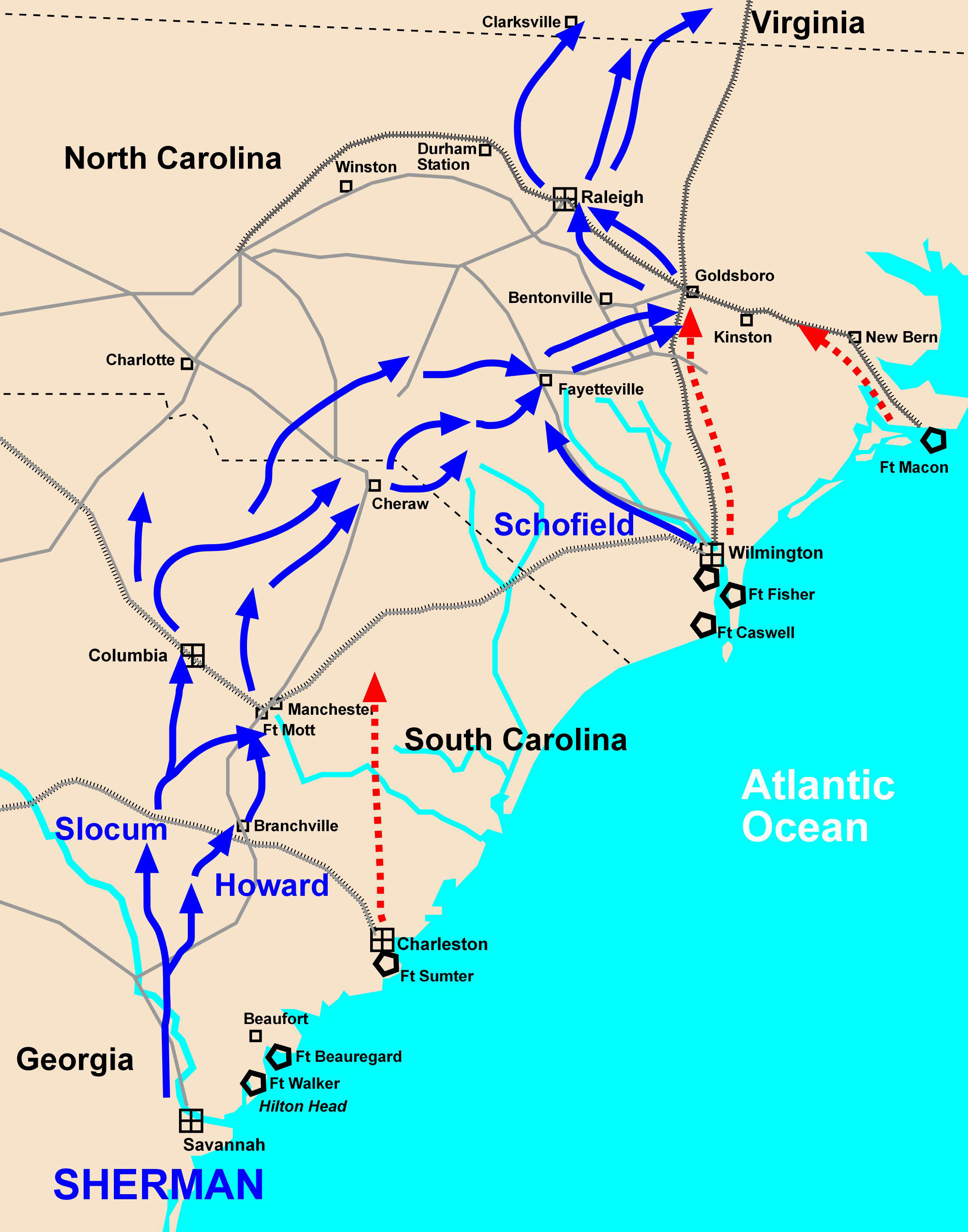 victory in the north us civil Conclusion: reasons for union victory the union's advantages as a large industrial power and its leaders' political skills contributed to decisive wins on the battlefield and ultimately victory against the confederates in the american civil war.