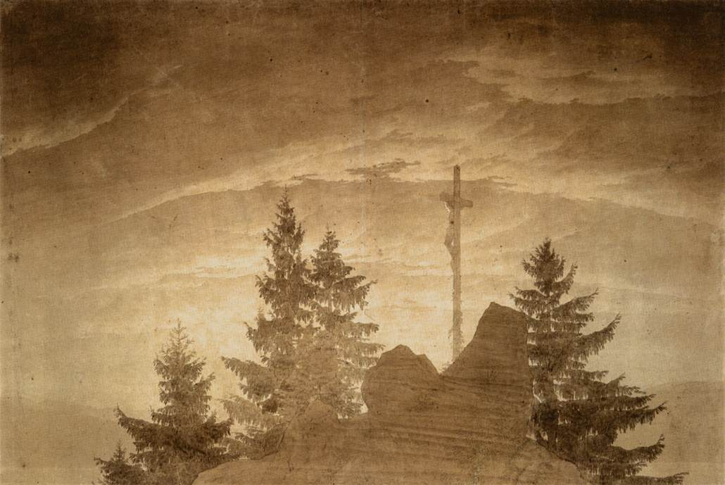file caspar david friedrich cross in the mountains. Black Bedroom Furniture Sets. Home Design Ideas