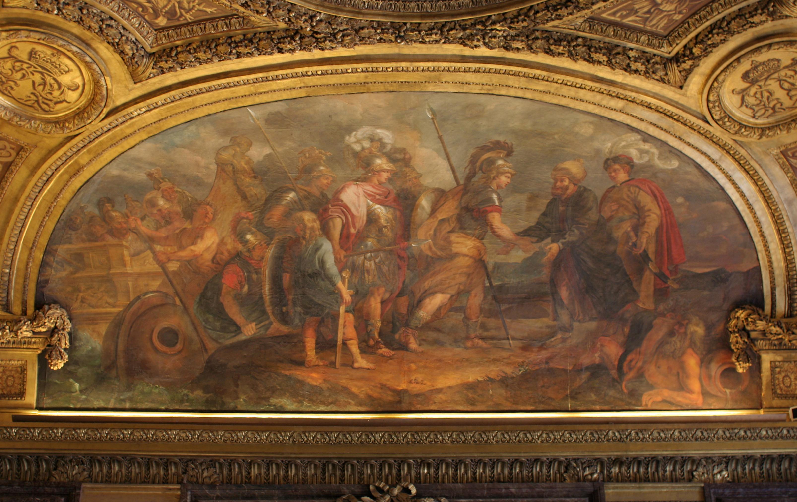 File:Château de Versailles, salon de Diane, Jason et les Argonautes débarquant en Colchide, Charles de La Fosse.jpg - Wikimedia Commons