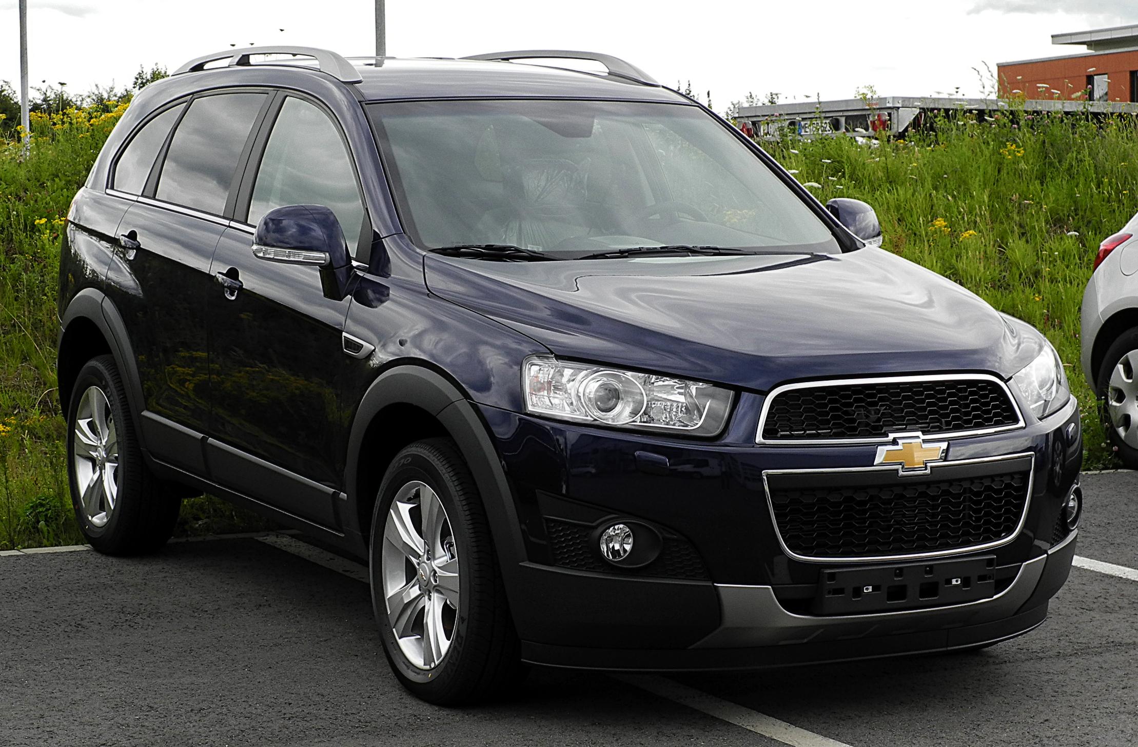 Description Chevrolet Captiva (Facelift) – Frontansicht, 17. Juli