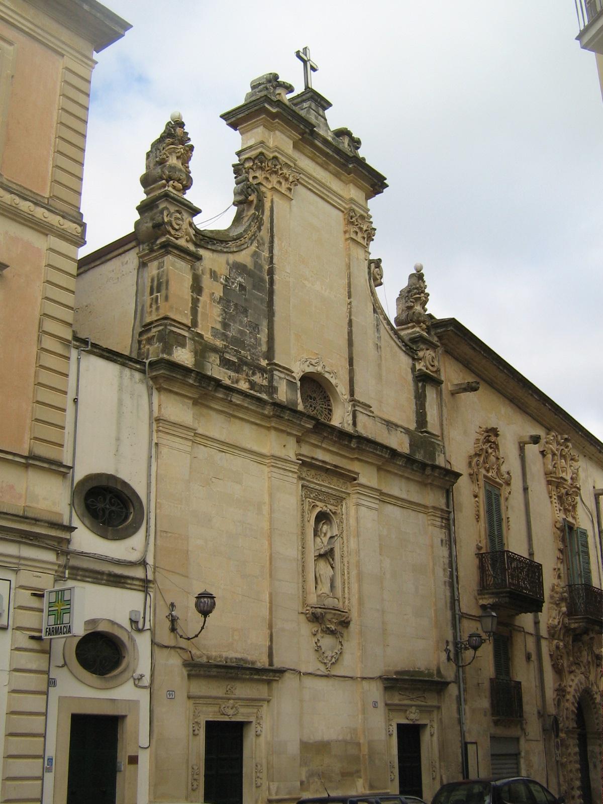 Chiesa dell'Addolorata a Galatina di Lecce