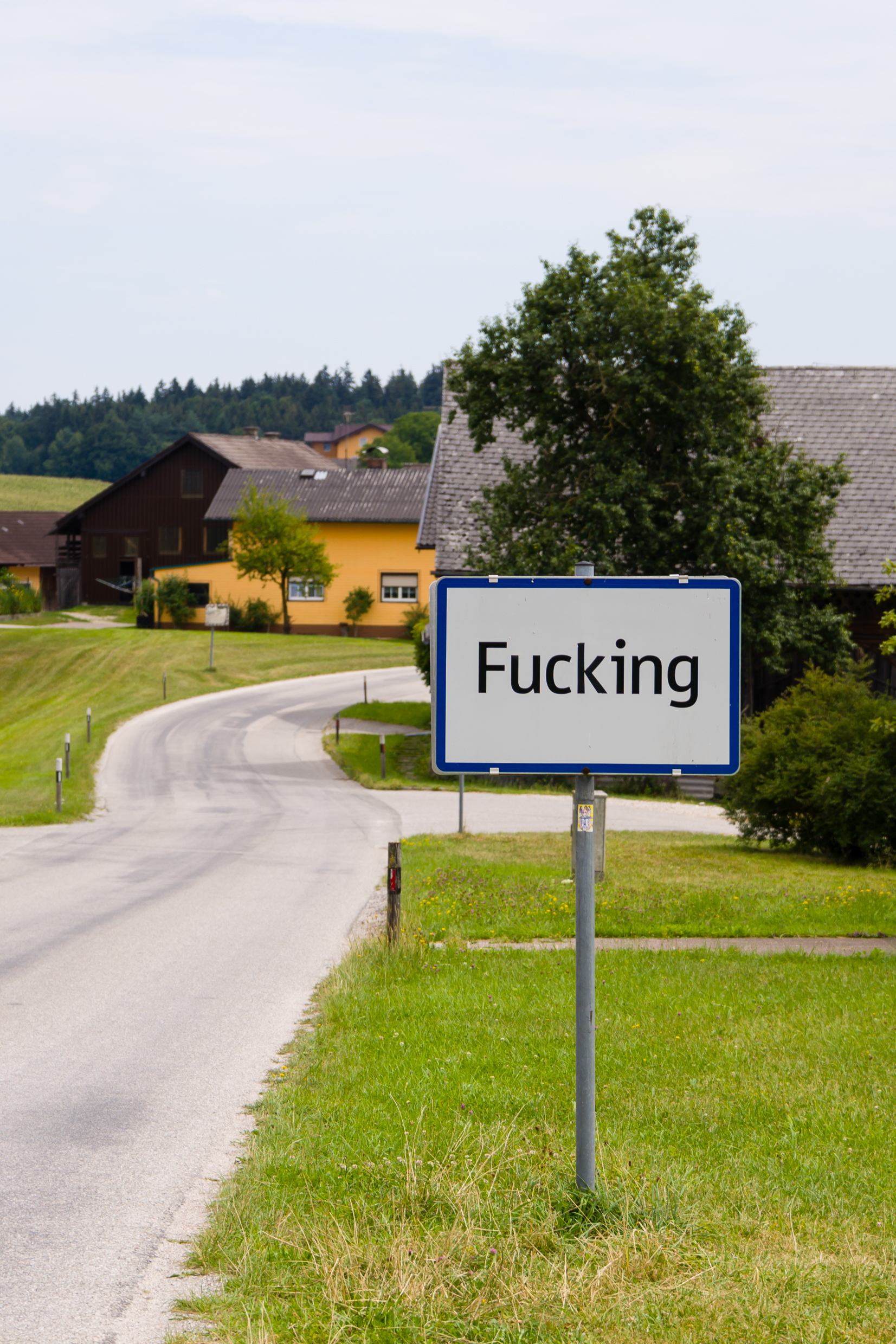 City limit sign of Fucking, Austria.jpg