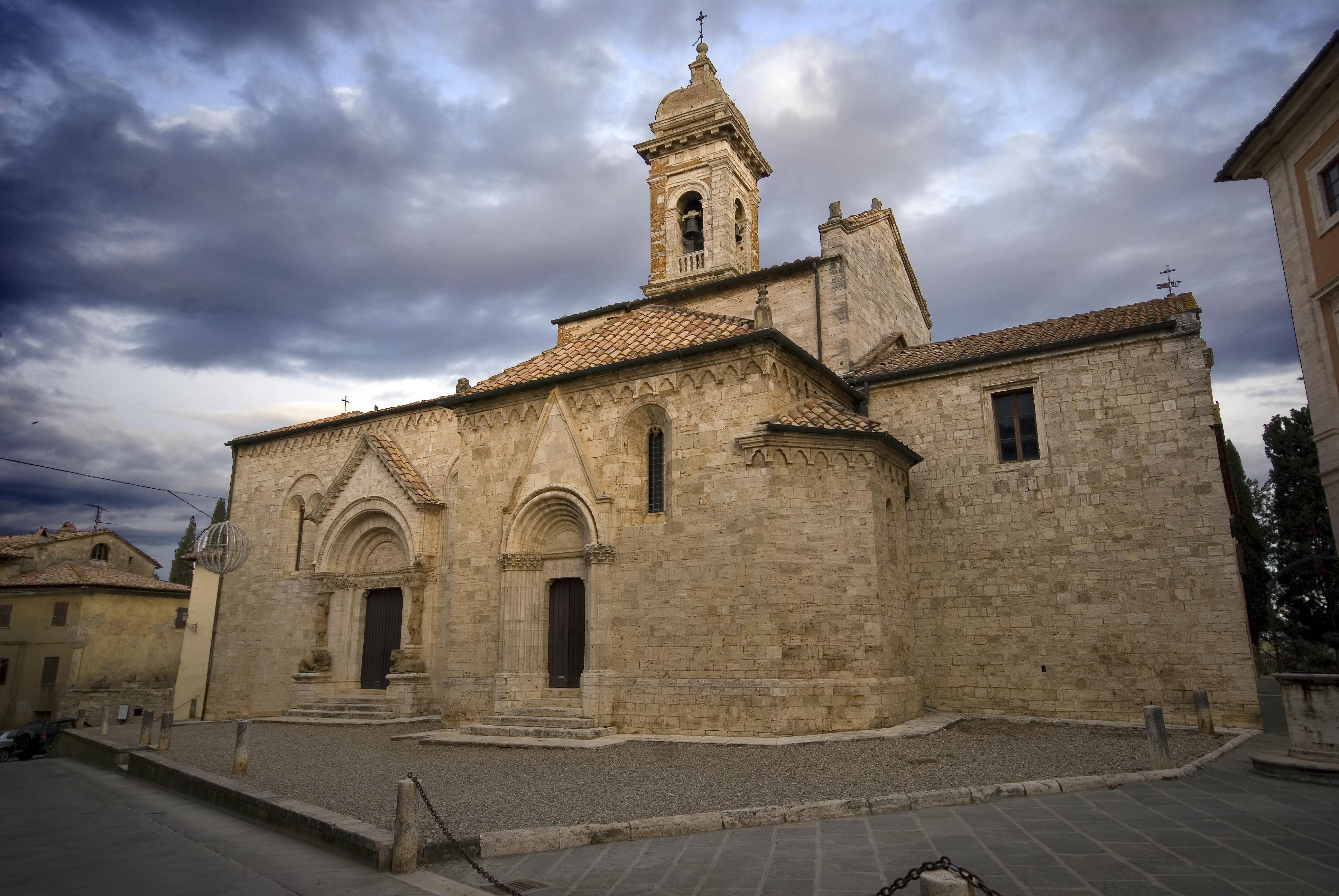 Chiesa collegiata, San Quirico d'Orcia