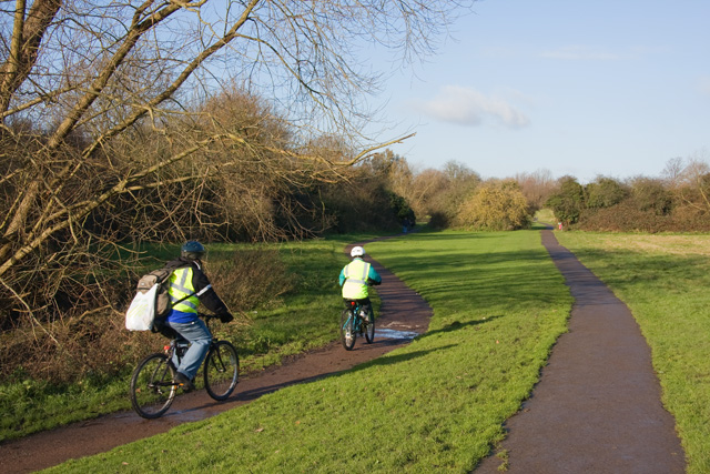 Cycling Along the Dollis Valley - geograph.org.uk - 1071117