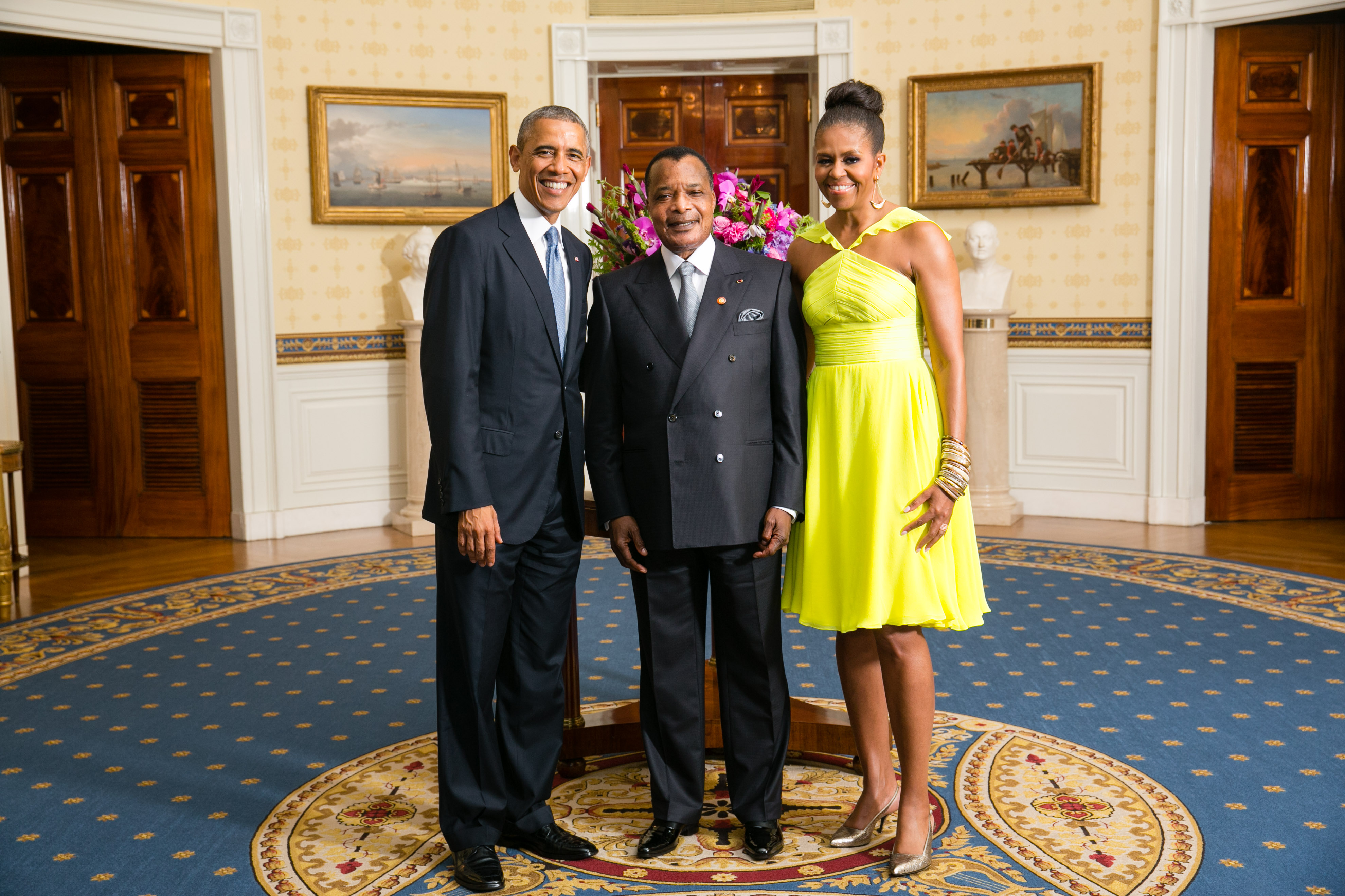 File denis sassou nguesso with obamas wikimedia for Amanda family maison