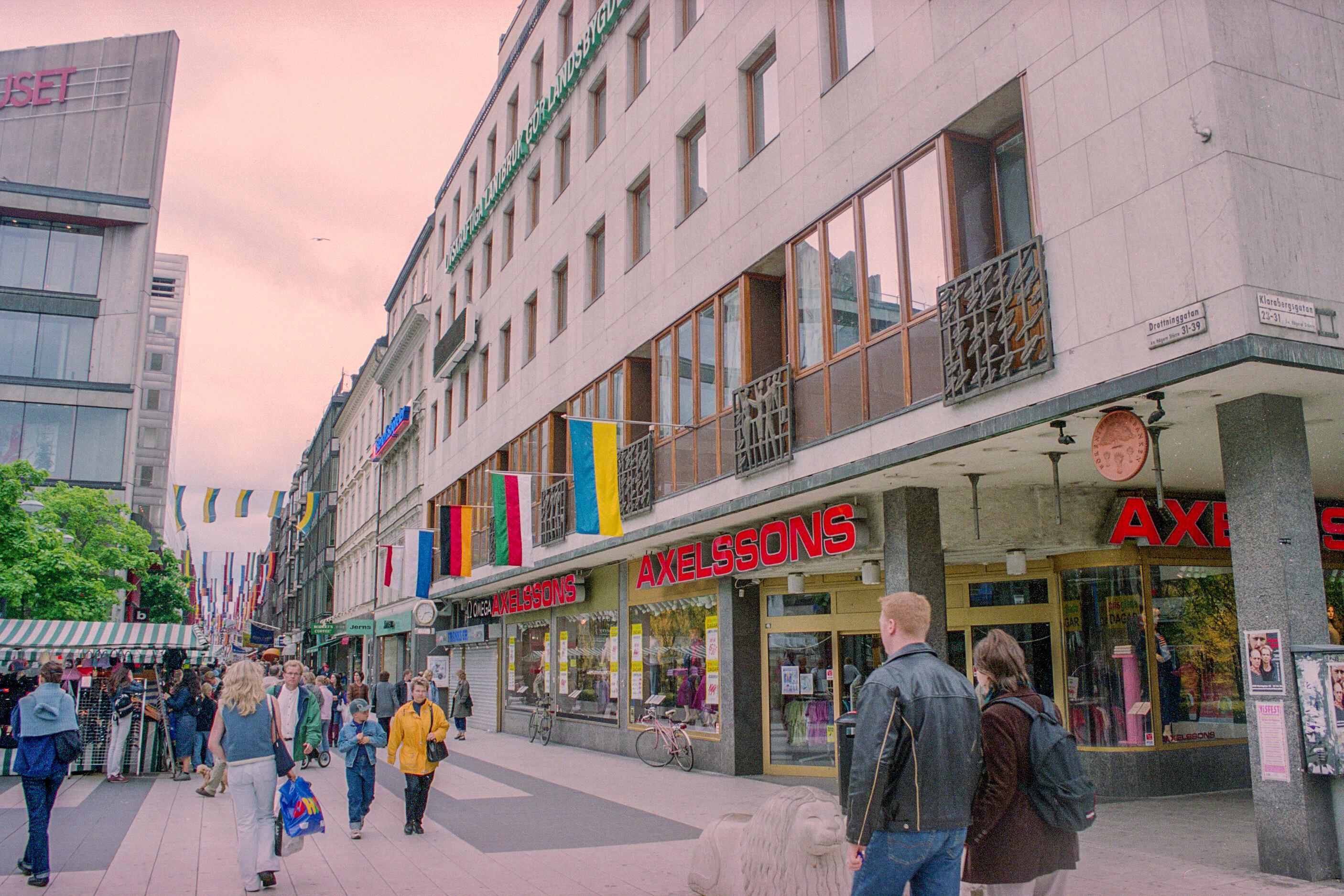 gravyr stockholm drottninggatan