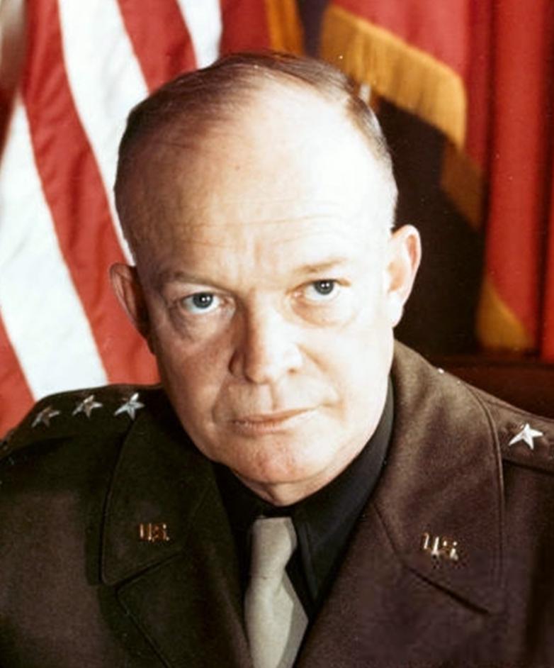 File:Dwight D Eisenhower (cropped).jpg